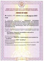 пассажирская лицензия